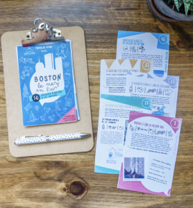 Ebook Boston le nez en l'air