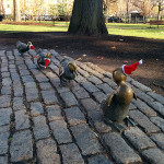 La famille canard du Jardin Public