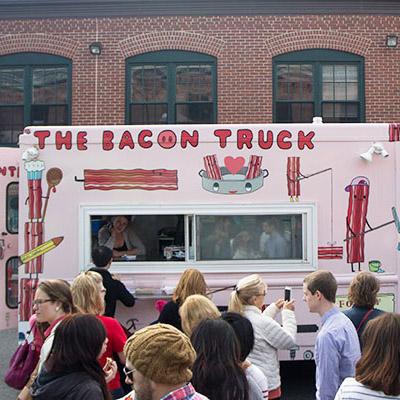 bacon truck