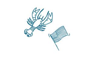 homard drapeau