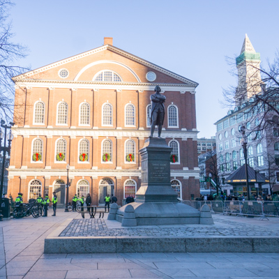 GRand Tour Boston Faneuil Hall