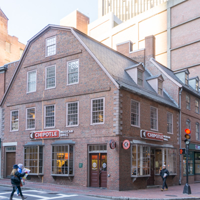 GRand Tour Boston - old corner bookstore
