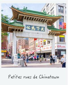 Voir les petites rues de chinatown