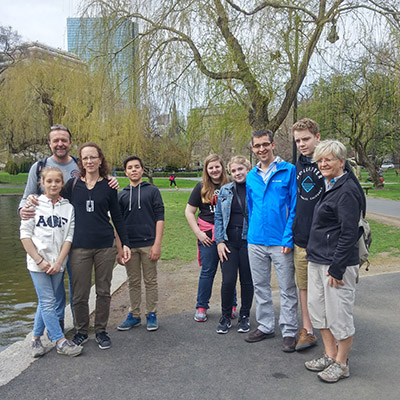 visiter boston jardin public