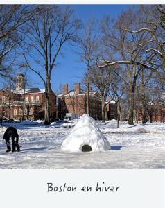 Boston en hiver