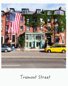 Tremont Street South End Boston