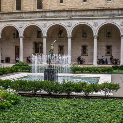 Boston Public Library courtyard (1 of 1)