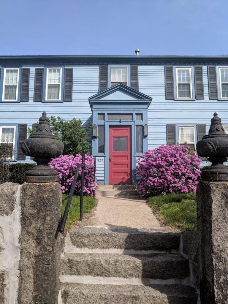 Maison bleue Jamaica Plain
