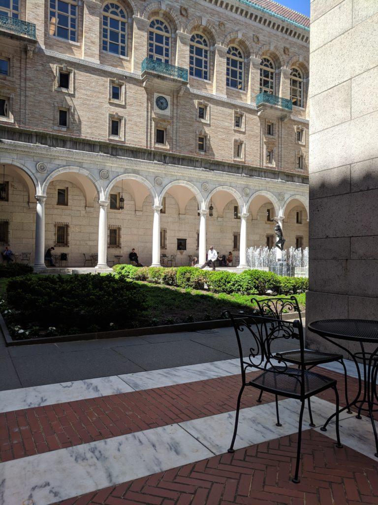Boston Public Library May Boston